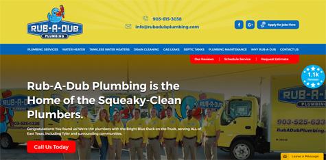 Rub A Dub Plumbing